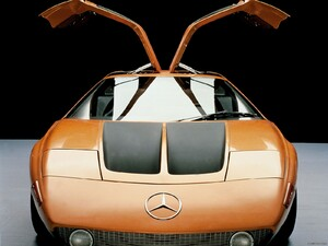 1970 Mercedes-Benz C 111 II Concept  - Front Angle  - Picture # 1