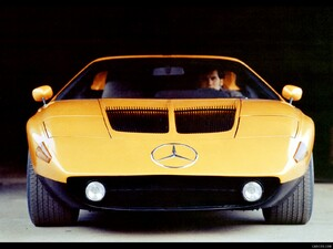 1970 Mercedes-Benz C 111 II Concept  - Front Angle  - Picture # 5