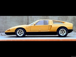 1970 Mercedes-Benz C 111 II Concept  - Side - Picture # 6