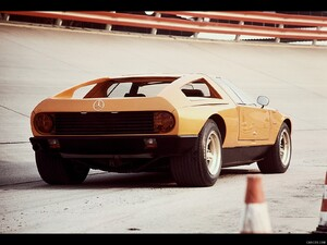 1970 Mercedes-Benz C 111 II Concept - Test Track - Picture # 8