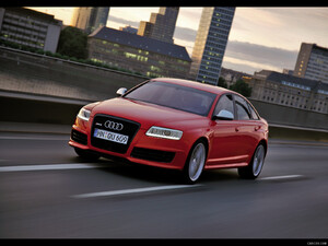 2009 Audi RS6 Sedan Red - Front - Picture # 3