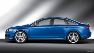 2009 Audi RS6 Sedan Blue - Side - Picture # 5