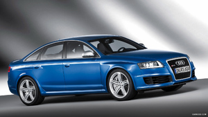2009 Audi RS6 Sedan Blue - Side - Picture # 7