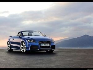 2010 Audi TT RS Roadster - Front Right Quarter View Photo - Picture # 10