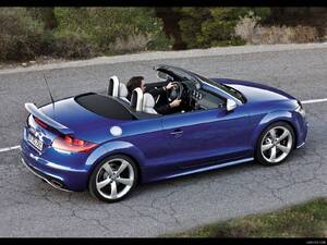 2010 Audi TT RS Roadster - Rear Right Quarter View Photo - Picture # 1