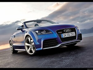 2010 Audi TT RS Roadster - Front Right Quarter View Photo - Picture # 5
