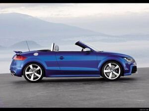 2010 Audi TT RS Roadster - Side View Photo - Picture # 6