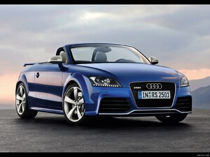 2010 Audi TT RS Roadster - Front Right Quarter View Photo - Picture # 7
