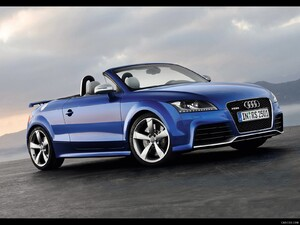 2010 Audi TT RS Roadster - Front Right Quarter View Photo - Picture # 9