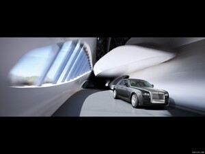 Rolls-Royce Ghost (2010)  - Front Right Quarter  - Picture # 7
