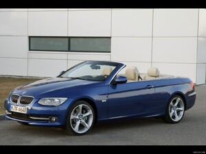 2011 bmw 3 series convertible front left quarter view photo. Cars Review. Best American Auto & Cars Review