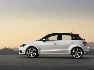 Audi A1 Sportback (2012) S line - Side - Picture # 2