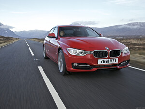 2012 BMW 3-Series UK-Version 320d Sport - Front - Picture # 9