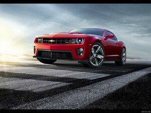 Chevrolet Camaro ZL1 (2012)  - Front - Picture # 1