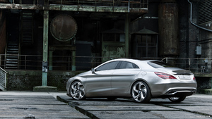 Mercedes-Benz Concept Style Coupe (2012)  - Rear - Picture # 11