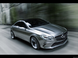 Mercedes-Benz Concept Style Coupe (2012)  - Front - Picture # 2