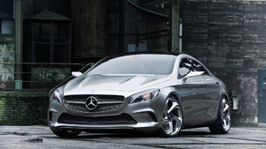 Mercedes-Benz Concept Style Coupe (2012)  - Front - Picture # 4
