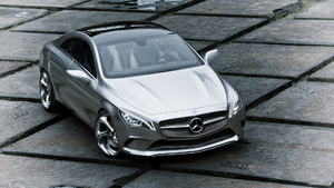 Mercedes-Benz Concept Style Coupe (2012)  - Front - Picture # 5