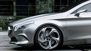 Mercedes-Benz Concept Style Coupe (2012)  - Side - Picture # 9