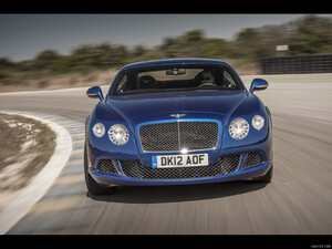 2013 Bentley Continental GT Speed  - Front - Picture # 2