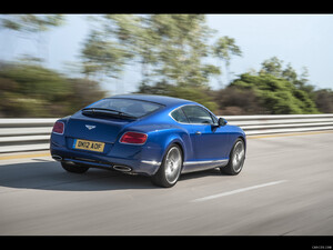 2013 Bentley Continental GT Speed  - Rear - Picture # 5