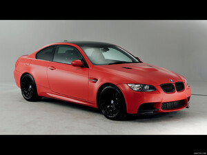 BMW M3 (2013) UK Performance Edition Frozen Red - Front - Picture # 1