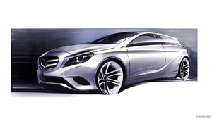 Gwa Reveals Sls Roadster Amg Based Retro Styled 300 Slc Photo Gallery 55160 additionally Mercedes Benz Amg Vision Gran Turismo Concept Development Process Revealed besides Mercedes Amg Gt Nears September Reveal in addition 13397923 in addition 97. on design sketches new mercedes benz sls