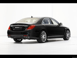 BRABUS 850 6.0 Biturbo iBusiness based on M-Benz S63 AMG (2014)  - Rear - Picture # 4
