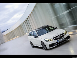 2014 Mercedes-Benz E 63 AMG S 4MATIC Estate  - Front - Picture # 1