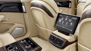 2016 audi a8 l extended rear seat entertainment system. Black Bedroom Furniture Sets. Home Design Ideas