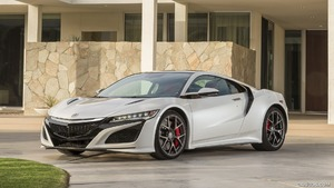 2017 Acura NSX White - Front | HD Wallpaper #49 | 2560x1440