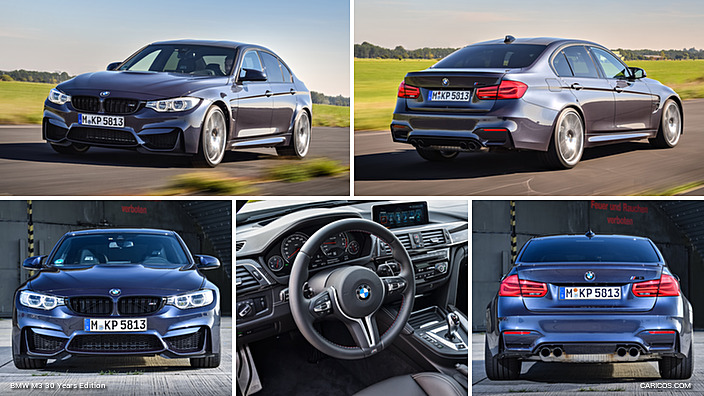 2016 Bmw M3 30 Years Edition Caricos Com