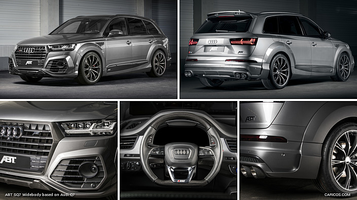 2017 Abt Sq7 Widebody Based On Audi Q7 Caricos Com