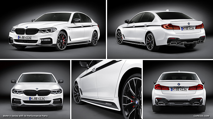 2017 Bmw 5 Series With M Performance Parts Caricos Com