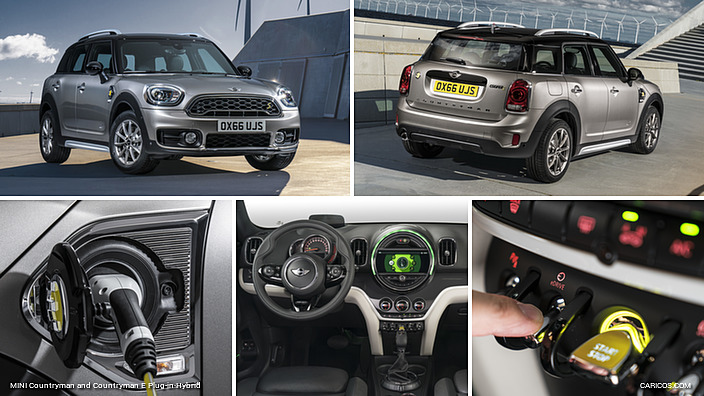 2017 mini countryman and countryman e plug in hybrid. Black Bedroom Furniture Sets. Home Design Ideas