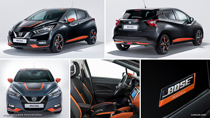 2017 nissan micra bose personal edition. Black Bedroom Furniture Sets. Home Design Ideas