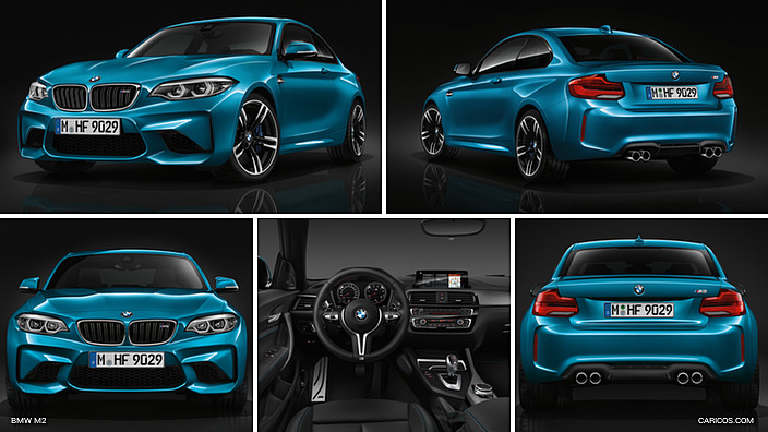 2018 bmw m2.  2018 interior and equipment new materials an eye for detail to 2018 bmw m2
