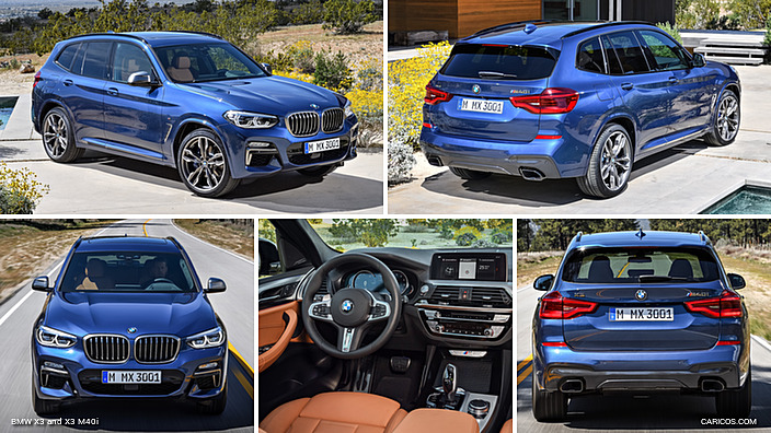 2018 bmw x3 and x3 m40i. Black Bedroom Furniture Sets. Home Design Ideas