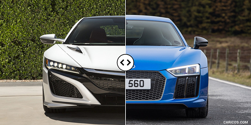 acura nsx vs audi r8. Black Bedroom Furniture Sets. Home Design Ideas