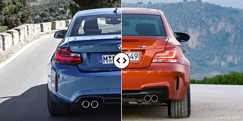 bmw m2 vs 1 series m coupe. Black Bedroom Furniture Sets. Home Design Ideas