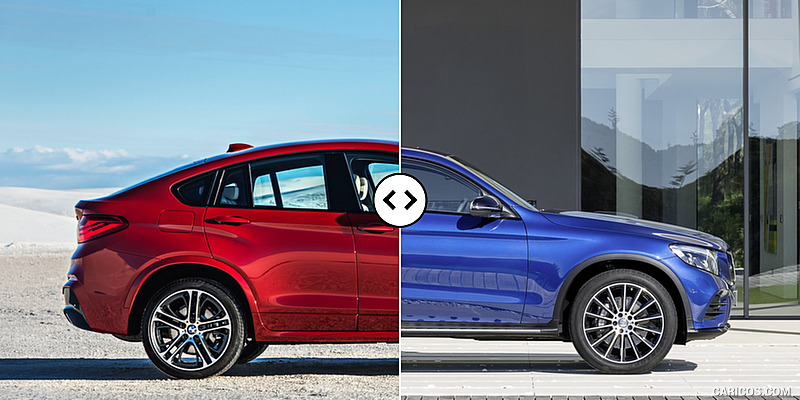 Bmw X4 Vs Mercedes Benz Glc Coupe