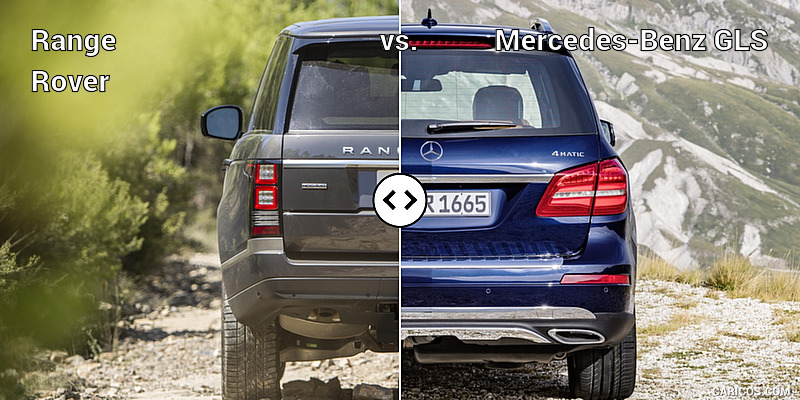 Range rover vs mercedes benz gls for Mercedes benz rover
