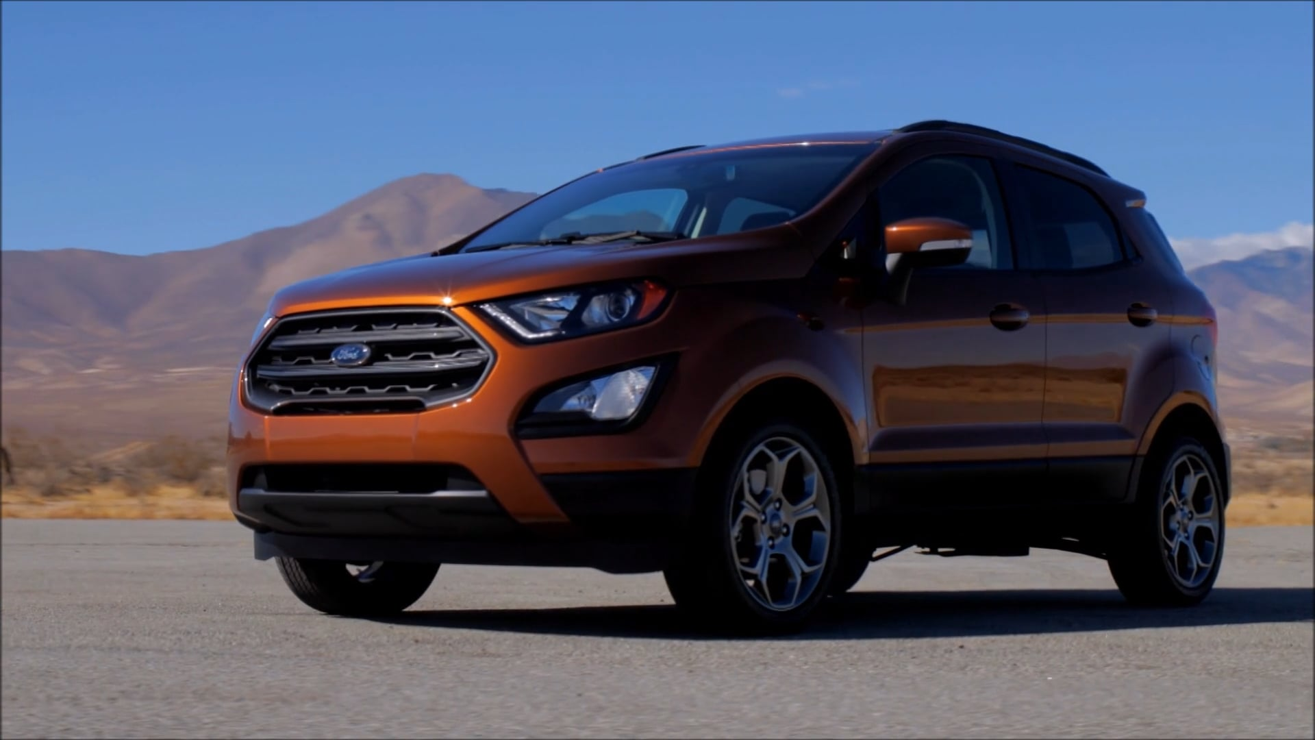 2018 ford ecosport. contemporary ford driving 2018 ford ecosport ses in ford ecosport