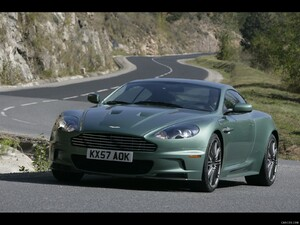 2009 Aston Martin DBS Racing Green
