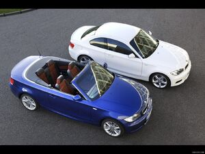 2011 BMW 1-Series Coupe and Convertible