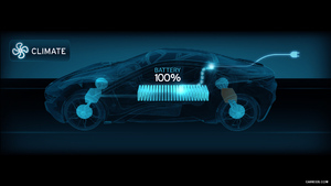 BMW i8 Concept - Central Information Display - | Caricos