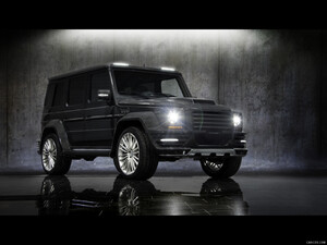 2011 Mansory G-Couture based on Mercedes G-Class
