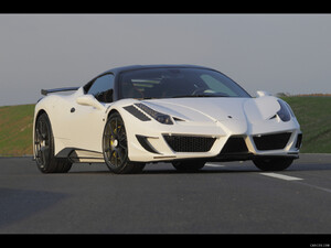 2011 Mansory Siracusa based on Ferrari 458 Italia