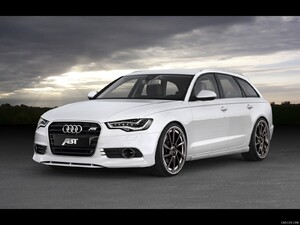 2012 ABT AS6 Avant based on Audi A6 Avant