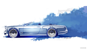 2012 Bentley Mulsanne Convertible Concept